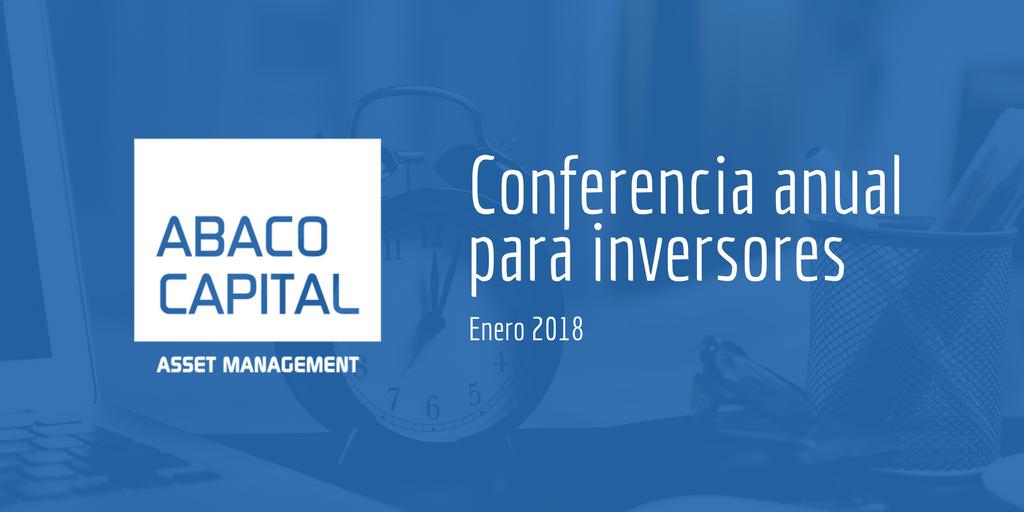 conferencia anual para inversores 2018