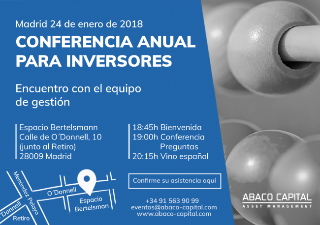 Conferencia Anual Inversores Abaco Capital